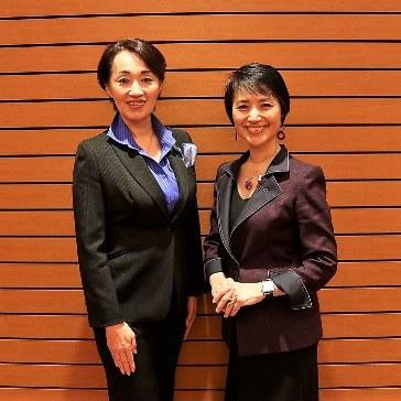 熊本営業力 第一講師朝倉千恵子